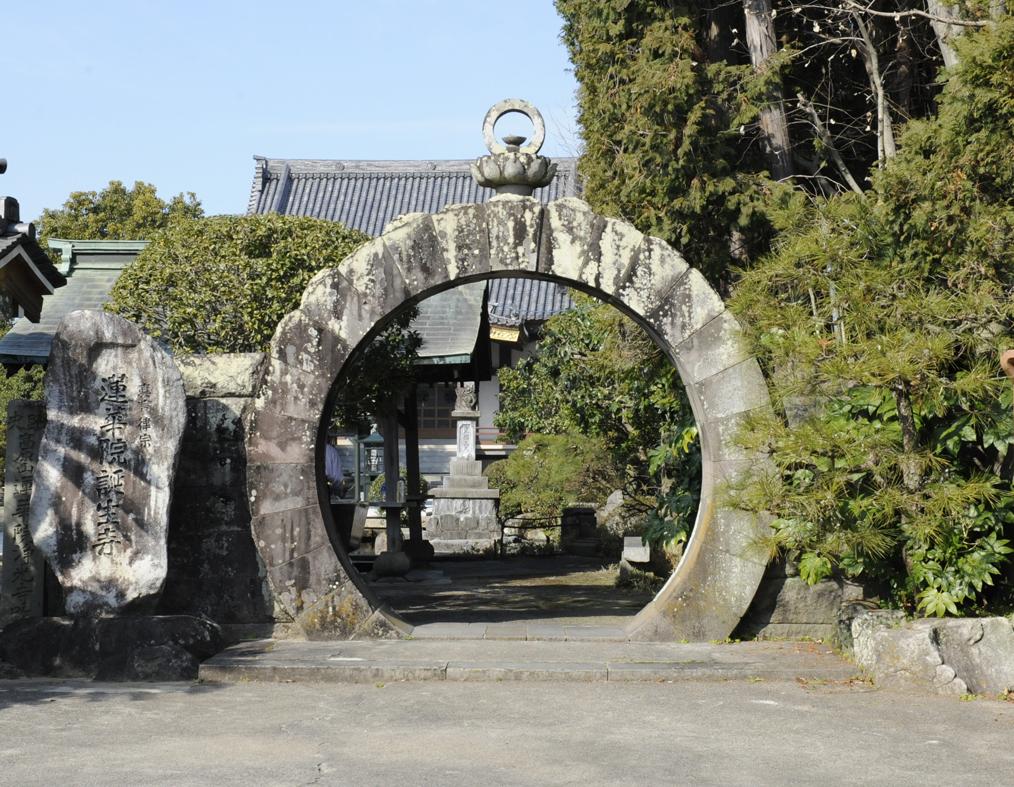 蓮華院誕生寺円門