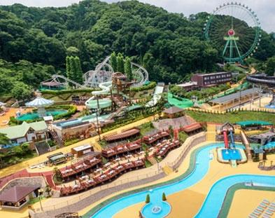 สวนน้ำในโตเกียว