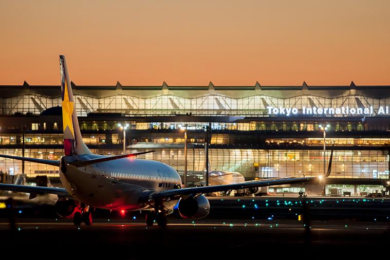 การเดินทางไปสนามบินในญี่ปุ่น