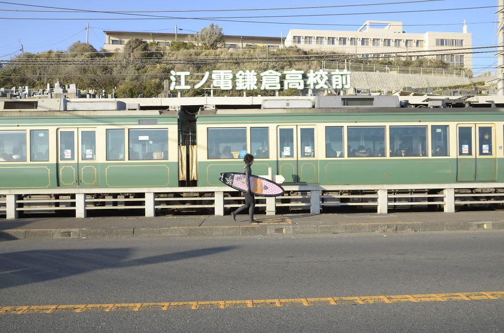 江ノ電鎌倉高校前_サーフボード_2012_(6815901923)