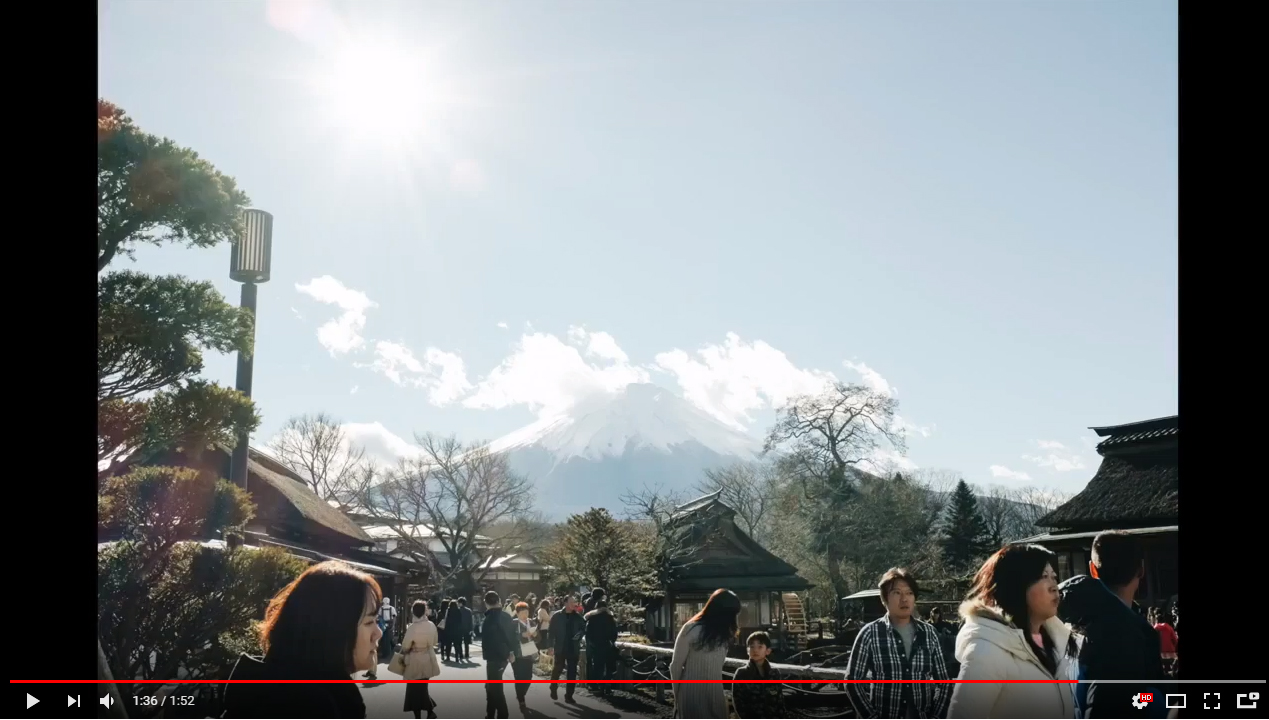 Visit Japan by yourself Mt. Fuji