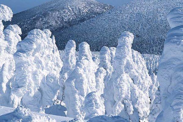 ทุ่งปิศาจน้ำแข็งที่ภูเขาซาโอะ